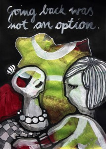 Jessica Koppe: Going back was not an option (2014)