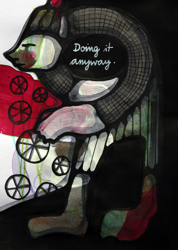 Jessica Koppe: Doing it anyway (2014)