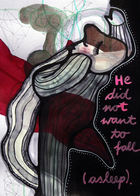 Jessica Koppe: He did not want to fall (asleep) (2014)