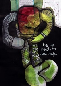 Jessica Koppe: He needs to feels safe (2014)