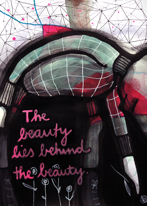 Jessica Koppe: The beauty lies behind the beauty (2014)